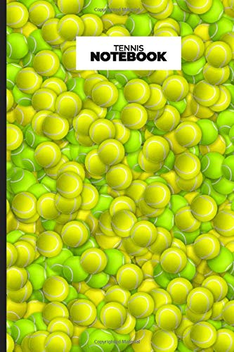 Tennis Notebook: Tennis Fan Notebook With Racket| 6'X9' Blank Lined Journal For Player, Coach| Gift For Kids, Girls, Boys, Teens, Adults, School, College Students Who Loves Sports
