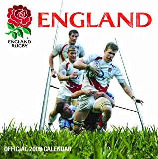 Official England Rugby Team Calendar 2009