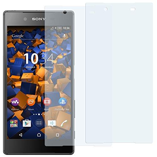 mumbi Schutzfolie kompatibel mit Sony Xperia Z5 Folie klar, Bildschirmschutzfolie (2X)