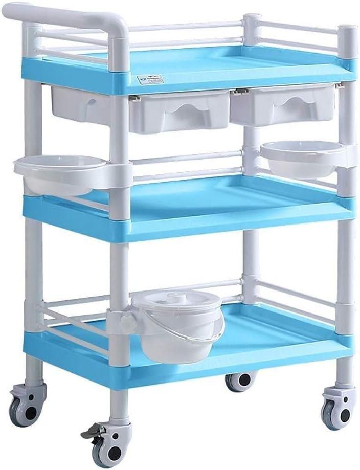 1 year warranty Ranking TOP20 YH-KE Storage Cart Hospital Trolley Medic Rack Medical Supplies