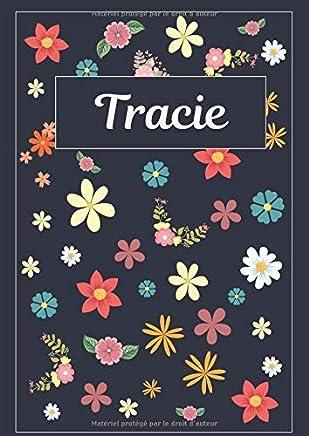 Tracie: Journal | Agenda | Carnet de Notes | 120 pages | A4 | Blanc | Idée Cadeau