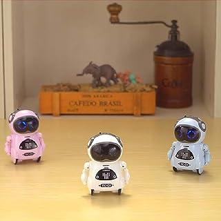 روبوت جيب للاطفال من ان دريم، لعبة روبوت صغير تعليمي ذكي، يتميز بخواص المحادثة الصوتية والتعرف على الصوت والرقص وتغيير الص...