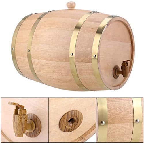 Hörsein 20L Eichen-Wein-Fass Rotwein Gebraut Ausrüstung Barrel-Rack für die Lagerung oder Alterung Wein und Spirituosen,10L