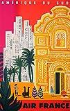 Südamerikanische Kunst Südamerika Poster Südamerika