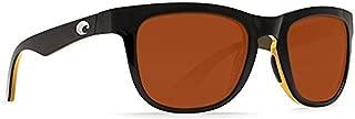 Costa Del Mar Copra Black Amber Sunglasses