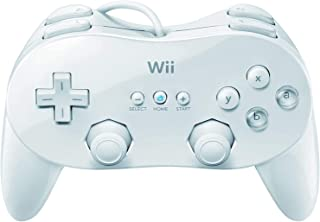 Wii u 有線 クラシック コントローラ 日本語説明書 と 保証書1年 (1 PACK, 白い)