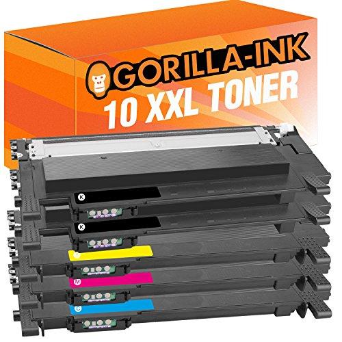 Gorilla-Ink 10 Cartuchos de tóner XXL Compatible con Samsung CLT-404S | Adecuado...