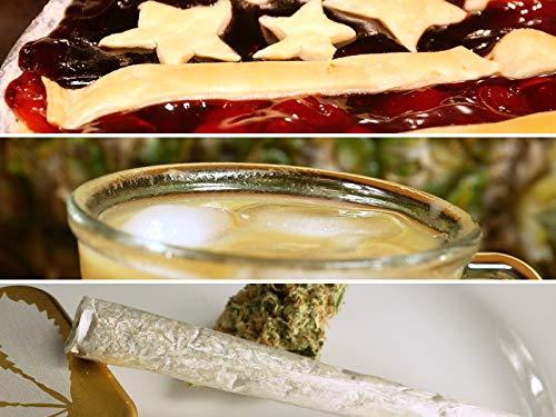 Cannabis Amerikanischer Kuchen, Cannabis Gefrorener Espresso,  Süßer Honig Joint