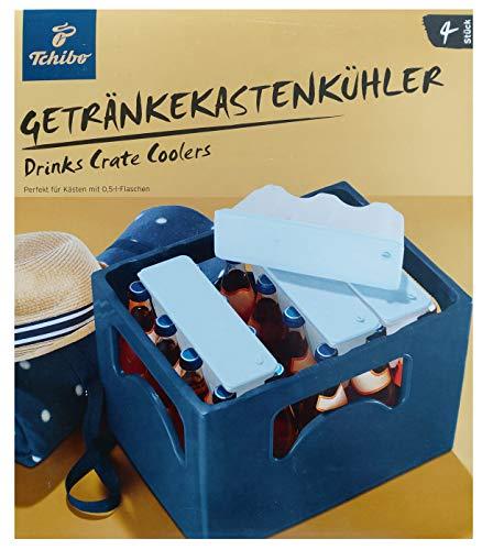 Tchibo TCM Getränkekastenkühler Kühlakkus Kühltasche Kühlung