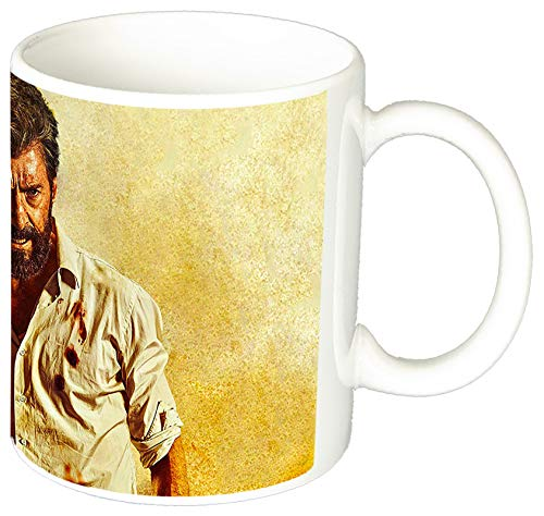 MasTazas Logan Wolverine X-Men Hugh Jackman Lobezno A Taza Ceramica 11 oz ≈ 325 ml