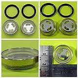 2 vasos de cristal de 18 mm de diámetro, kit de reparación, bomba de freno, depósito de líquido de frenos, rodillo chino.