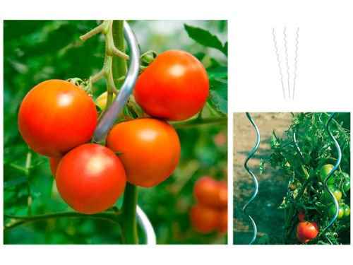 H&S 10er Set Tomatenspieralstab 150 cm