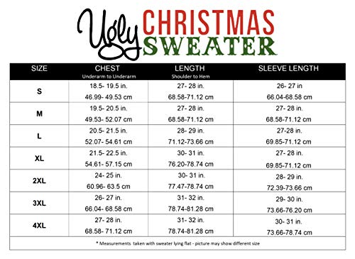 "Ugly Christmas Sweater Men's Jesus B-Day Sweater 3 Pullover crew-neck sweater featuring Fair Isle patterning on front bodice and ""BIRTHDAY BOY"" message set beneath Jesus design Solid sleeves and back Contrast ribbed-knit neck, cuffs, and hemline"