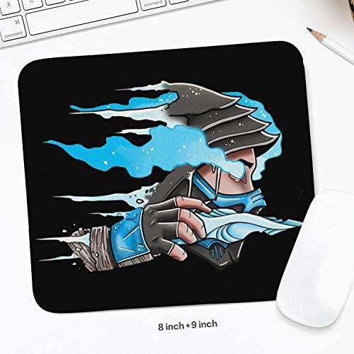 Sub Zero Mortal Kombat Mouse Pad Rectangle Non-Slip Rubber Gaming Mouse Pad