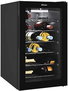 comprar comparacion Candy Vinoteca CWC021M - 21 Botellas - Baldas cromadas - Display electrónico - Iluminación interna LED - Color Negro