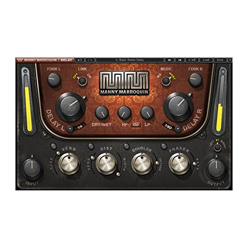 Waves Manny Marroquin Delay | Multi Dimensional Delay Plugin Software Download Only - http://coolthings.us