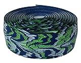 Lizard Skins li9952.Yam Cinta de Manillar de Bicicleta Unisex, Azul/Verde, 2,5mm