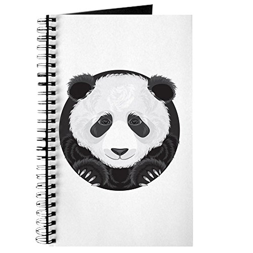 Journal (Diary) with Giant Panda Bear Majesty on Cover White