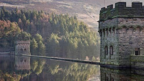 Derwent Reservoir, Derbyshire, Vk, Puzzel 1000 Stukjes Legpuzzels Voor Volwassenen En Kinderen (75 X 50 Cm)