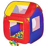 Small Tenda Giochi a Casetta per Bambini con 200 Palline Incluse Pieghevole Pop Up...