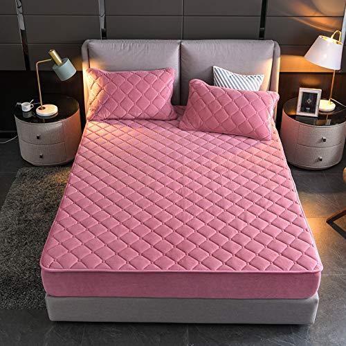 haiba Comfy Night Flannelette Sheet Set Double size Fitted-Sheet, Flat Sheet, Bed Sheet Set 150x190cm
