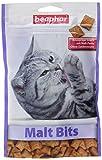 Malt Bits für Katzen | Leckerlis mit Malzpaste | Anti-Haarball bei Katzen | Ohne Zucker-Zusatz| 1 x 150 g Beutel