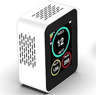 Adesign Capteur de qualité de l'air intérieur, Moniteur de qualité de l'air pour Bureau à Domicile PM2,5 / PM1.0 / PM10 Dé...