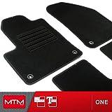 MDM Fußmatten Cherokee V (KL) ab 03.2014- Passform wie Original aus Velours, Automatten mit Absatzschoner aus Textile, Rand rutschhemmender, cod. One 4468