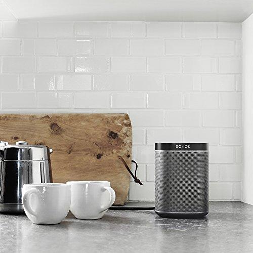 Sonos PLAY:1 I Kompakter Multiroom Smart Speaker für Wireless Music Streaming (schwarz) - 8
