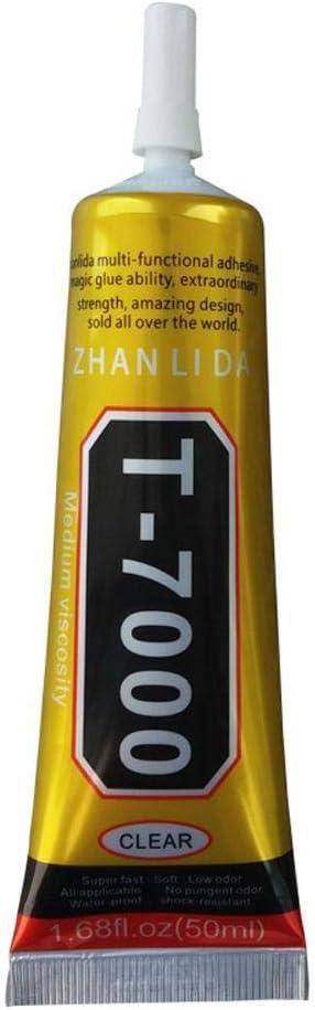 Phone glue Upgraded version Max 60% OFF t7000Multi Popularity Purpose Adh Acrylic Black