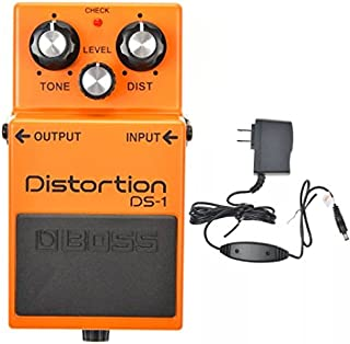Boss DS-1 Distortion and Boss PSA-120S2 Power Supply