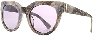 French Connection Womens Premium Modern Cat-Eye Sunglasses - Grey Marble