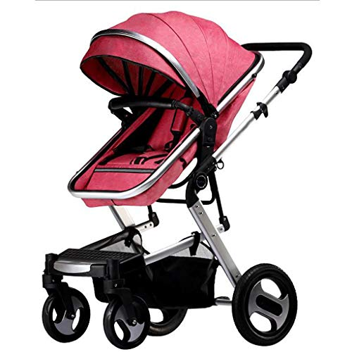 Learn More About JIAX Infant Baby Stroller-All Terrain Pushchair Stroller Compact Convertible Luxury...