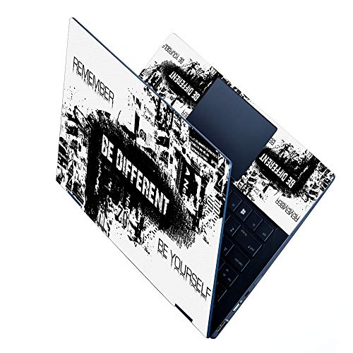 FineArts Full Panel Laptop Skins Upto 15.6 inch - No Residue, Bubble Free - Removable HD Quality Printed Vinyl/Sticker/Cover for Dell-Lenovo-Acer-HP - Be Different