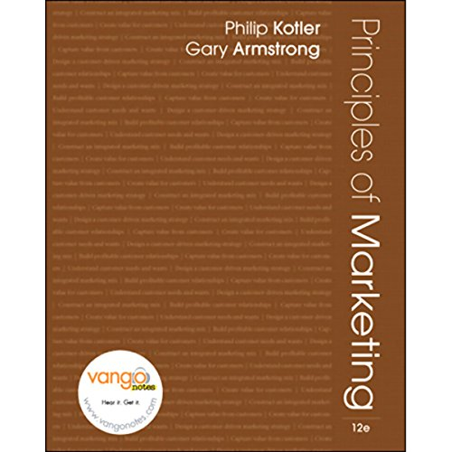 VangoNotes for Principles of Marketing, 12/e audiobook cover art