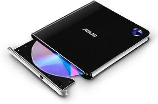 ASUS ブルーレイドライブ Blu-ray 外付け ポータブル バスパワー USB3.1 Win&Mac ウルトラスリム Type-C M-DISC 書込ソフト付属 SBW-06D5H-U