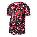 Nike Court Dri-Fit Short Sleeve Herren Orange, XS