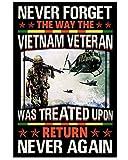 AZSTEEL Never Forget Viet-NAM Veteran Gift Vertical Poster