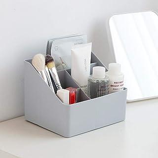 Boîte fraîcheur,Boîte de rangement trapézoïdale boîte de rangement en plastique de bureau-gris_Four grille