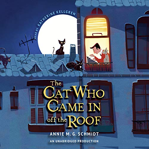The Cat Who Came in off the Roof audiobook cover art
