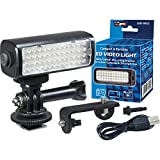VidPro Mini LED M52 Video Light Kit for Action Cameras, Camcorders and Phones