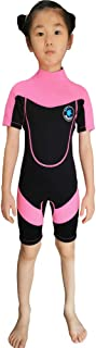 REALON Wetsuit Kids Shorties 3mm Boys Surfing Suit 2mm Children Swimwear Girls Snorkeling Diving Suits Toddler and Youth