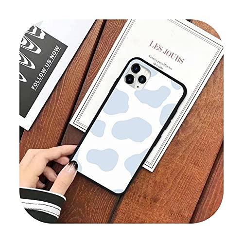 Pintura de mosaico simple y de moda caso del teléfono para el iPhone 11 12 pro XS MAX 8 7 6 6S Plus X 5S SE 2020 XR silicona suave-a2-iPhone11pro