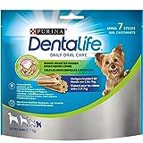 Purina DentaLife Extra Mini Hunde-Zahnpflege-Snacks reduziert Zahnsteinbildung, Huhn, sehr kleine Hunde, 5er Pack (5 x 69 g)