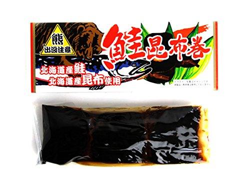 鮭昆布巻 270g (大箱) 北海道産コンブで仕上げたシャケをこんぶ巻に致しました。朝食をはじめ、晩御飯にも良いですし、お酒の肴としても お正月のおせち料理にはもちろんのこと、ご贈答用にも人気の味わいをご家庭でどうぞ。