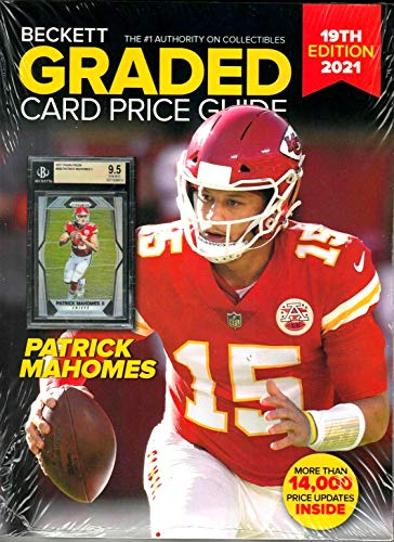 2021 Beckett Graded Card Price Guide (19th edition/P. Mahomes cover)