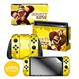Controller Gear Officially Licensed Nintendo Switch Skin & Screen Protector Set - Donkey Kong Swing' - Nintendo Switch
