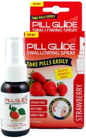 Pill Glide Take Pills Easily Strawberry Swallowing Spray 1 Oz 2 Pack product image