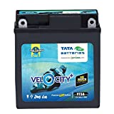 Tata Green Batteries 1419510999 Velocity Plus YT5A 12V 5Ah Motorcycle Battery (No Exchange)