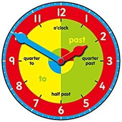 Galt Toys, Tell the Time Set, Learn To Tell The Time Clock, Ages 5 Years Plus #2
